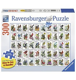 Ravensburger 50 Bird Stamps 300 pc