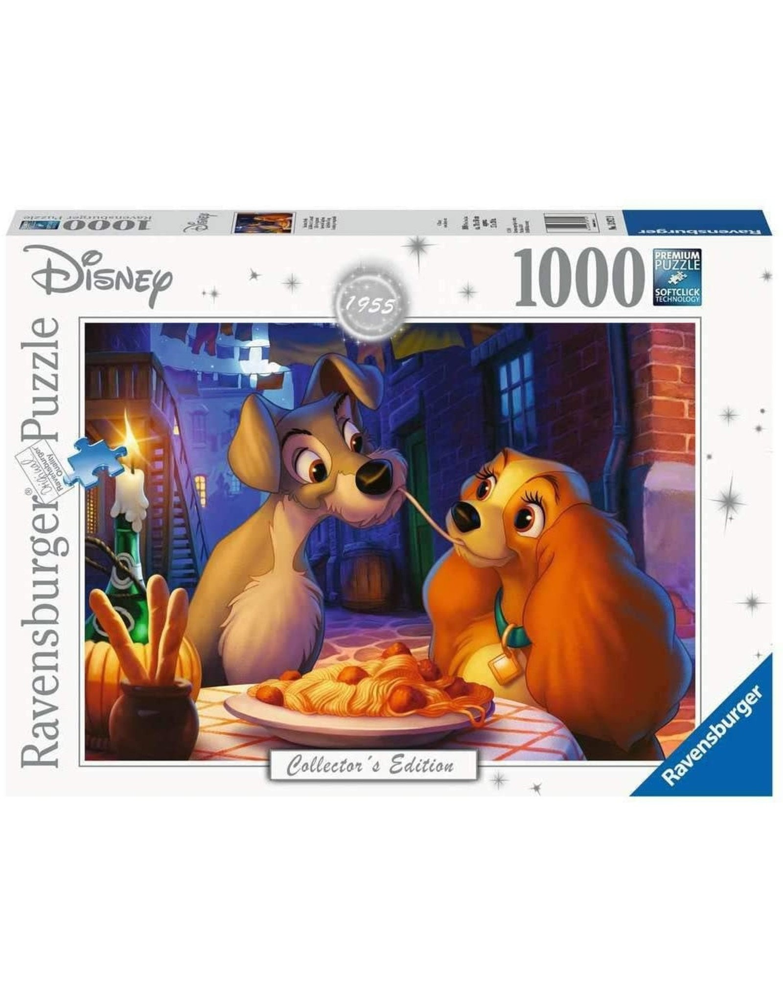 Ravensburger Lady and the Tramp 1000 pc
