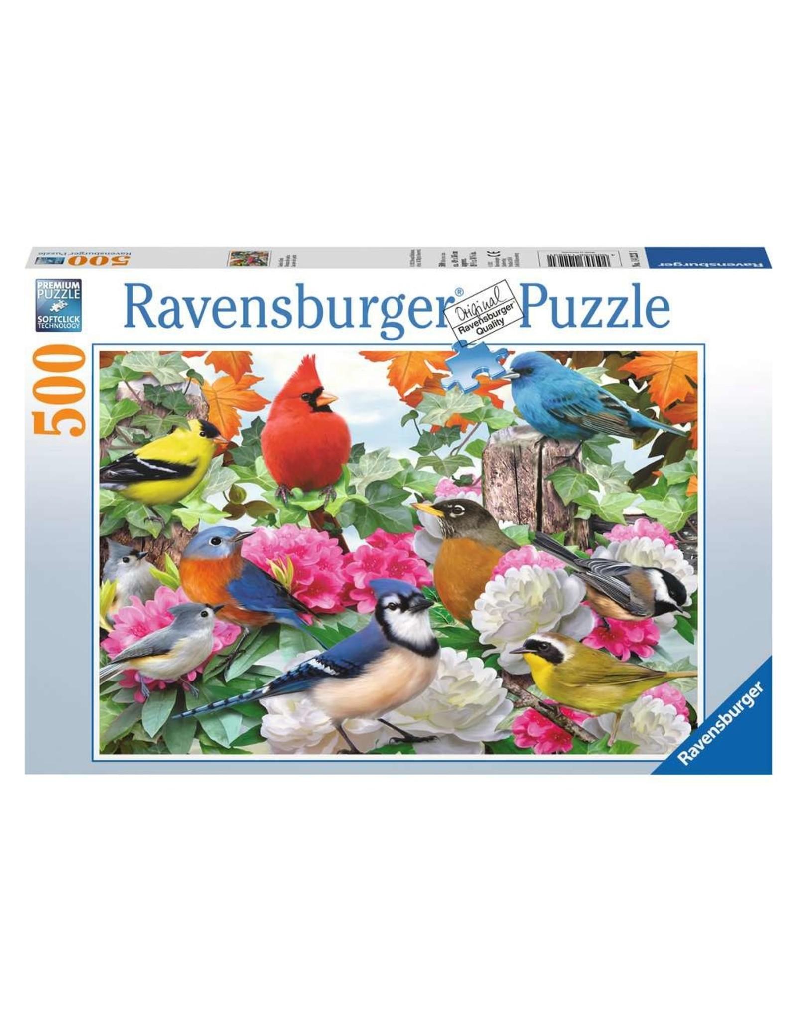 Ravensburger Garden Birds 500 pc