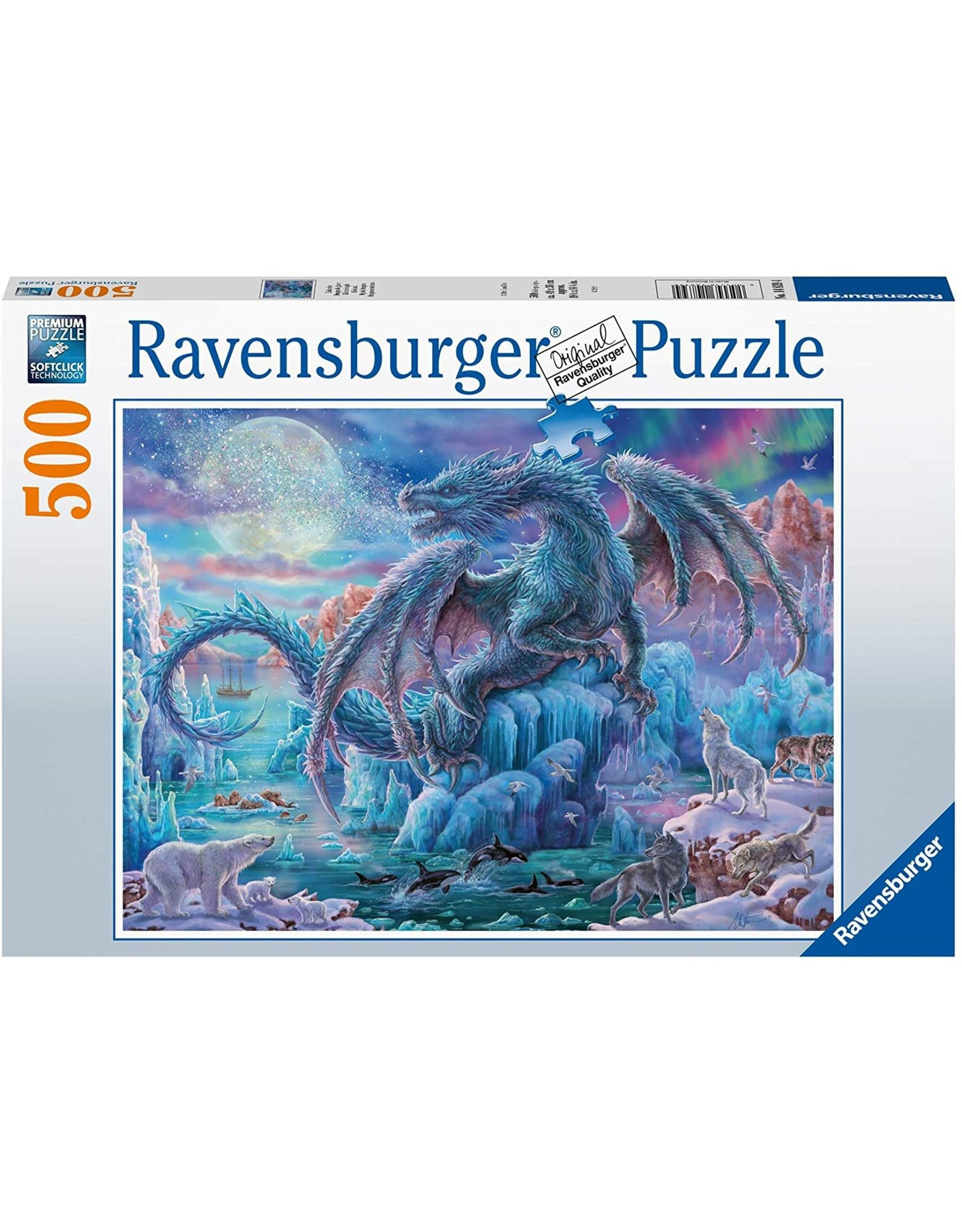 Ravensburger Mystical Dragons 500