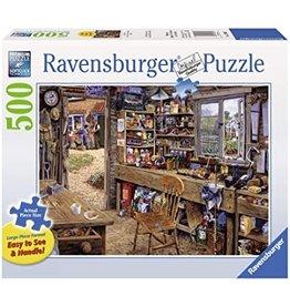 Ravensburger Dad's Shed 500 pc