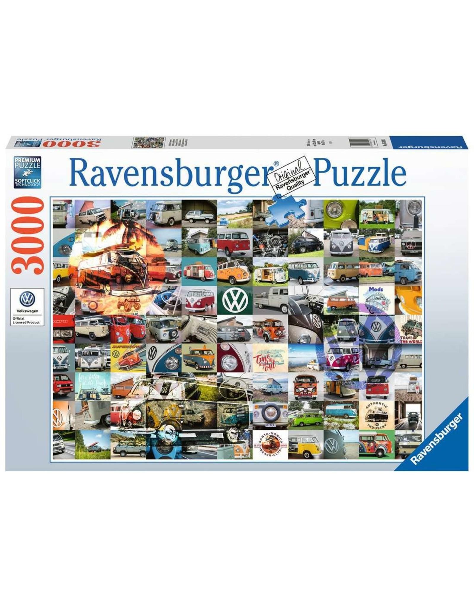 Ravensburger 99 VW Camper Van Moments 3000 pc