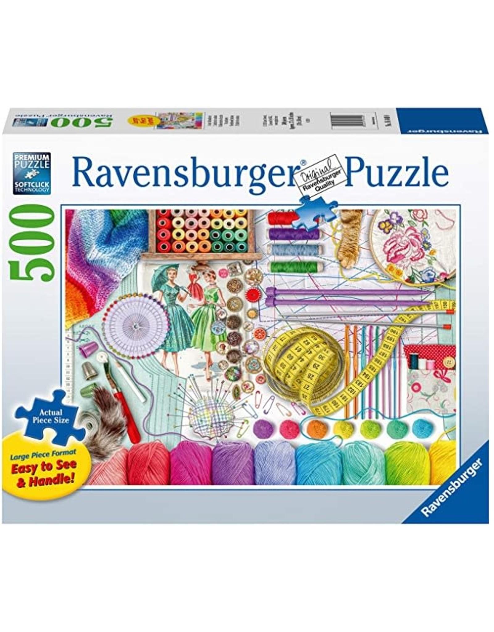 Ravensburger Needlework Station 500 pc