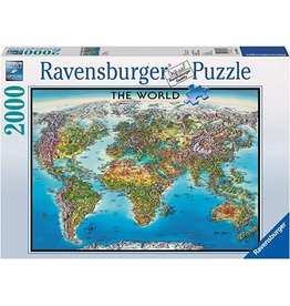 Ravensburger World Map 2000 pc