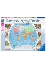 Ravensburger Political World Map 1000 pc