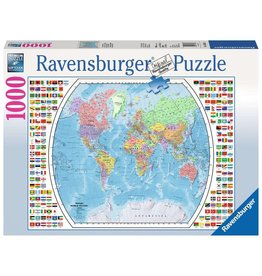 Ravensburger Political World Map 1000 pc