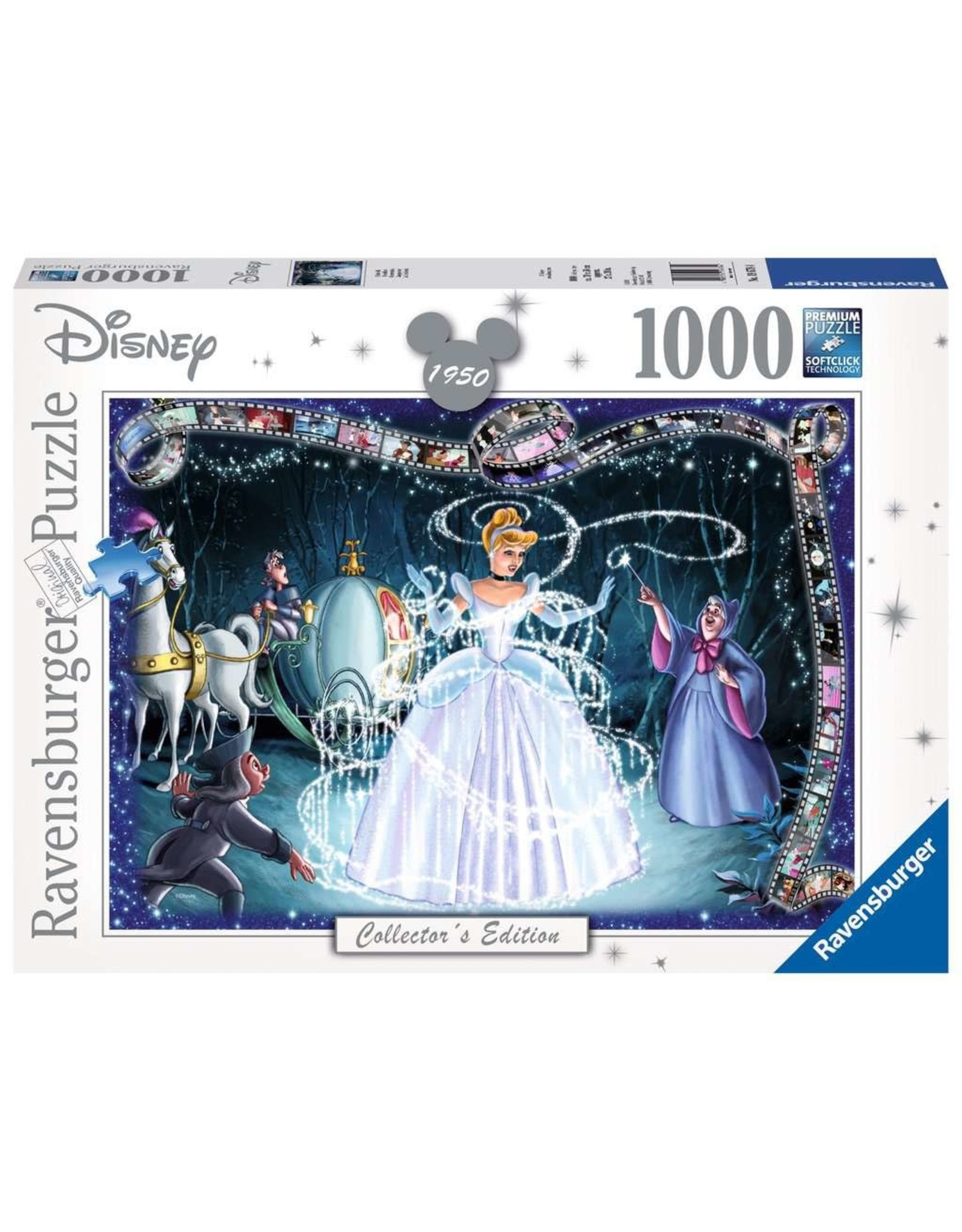Ravensburger Cinderella 1000 pc
