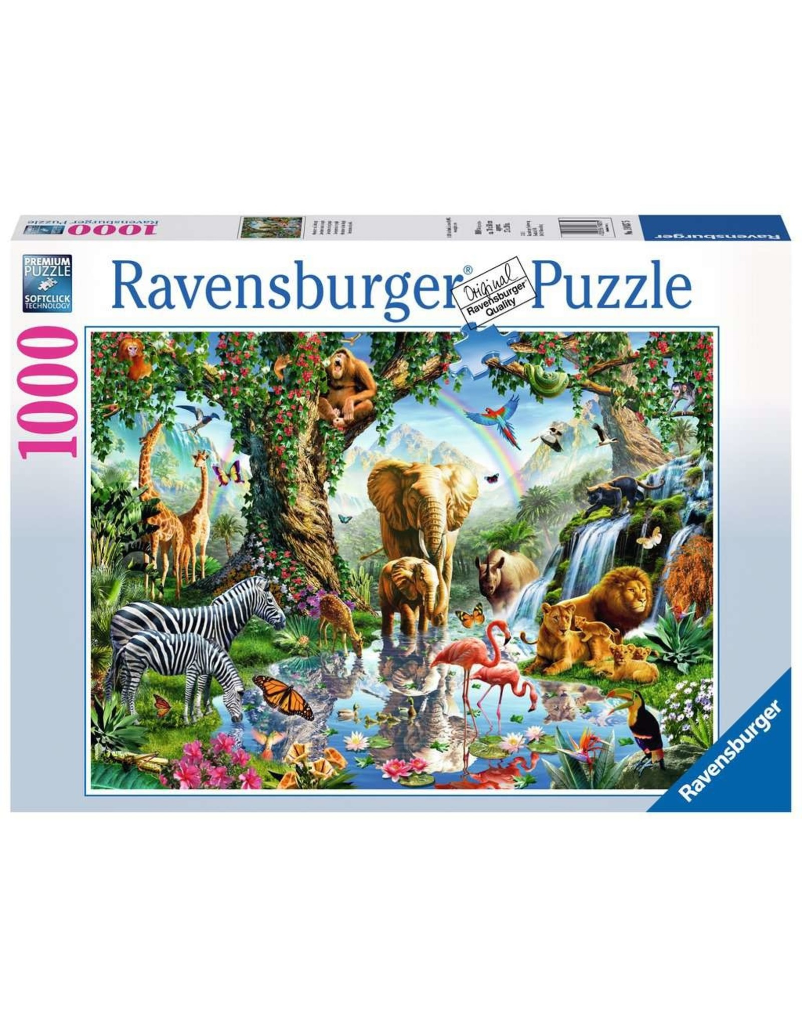 Ravensburger Adventures in the Jungle 1000 pc