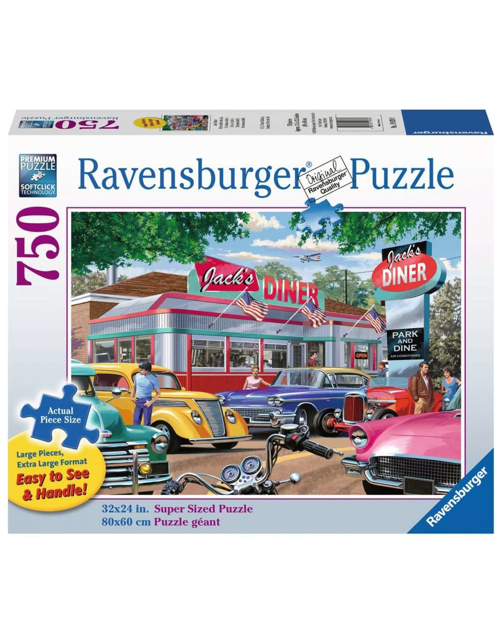 Ravensburger Meet You at Jack's 750 pc