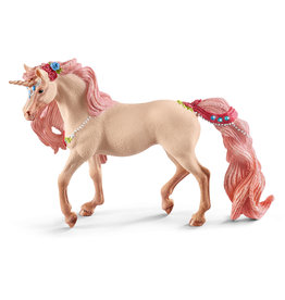 Schleich Decorated unicorn, mare