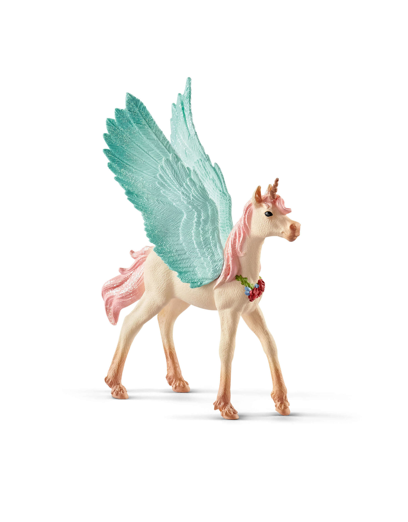 Schleich Decorated Unicorn Pegasus, Foal