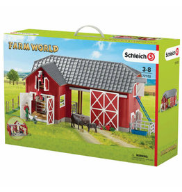 Schleich Large Farm with animals and accessories