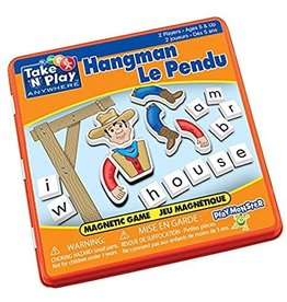 Play Monster Hangman Magnetic Game Tin