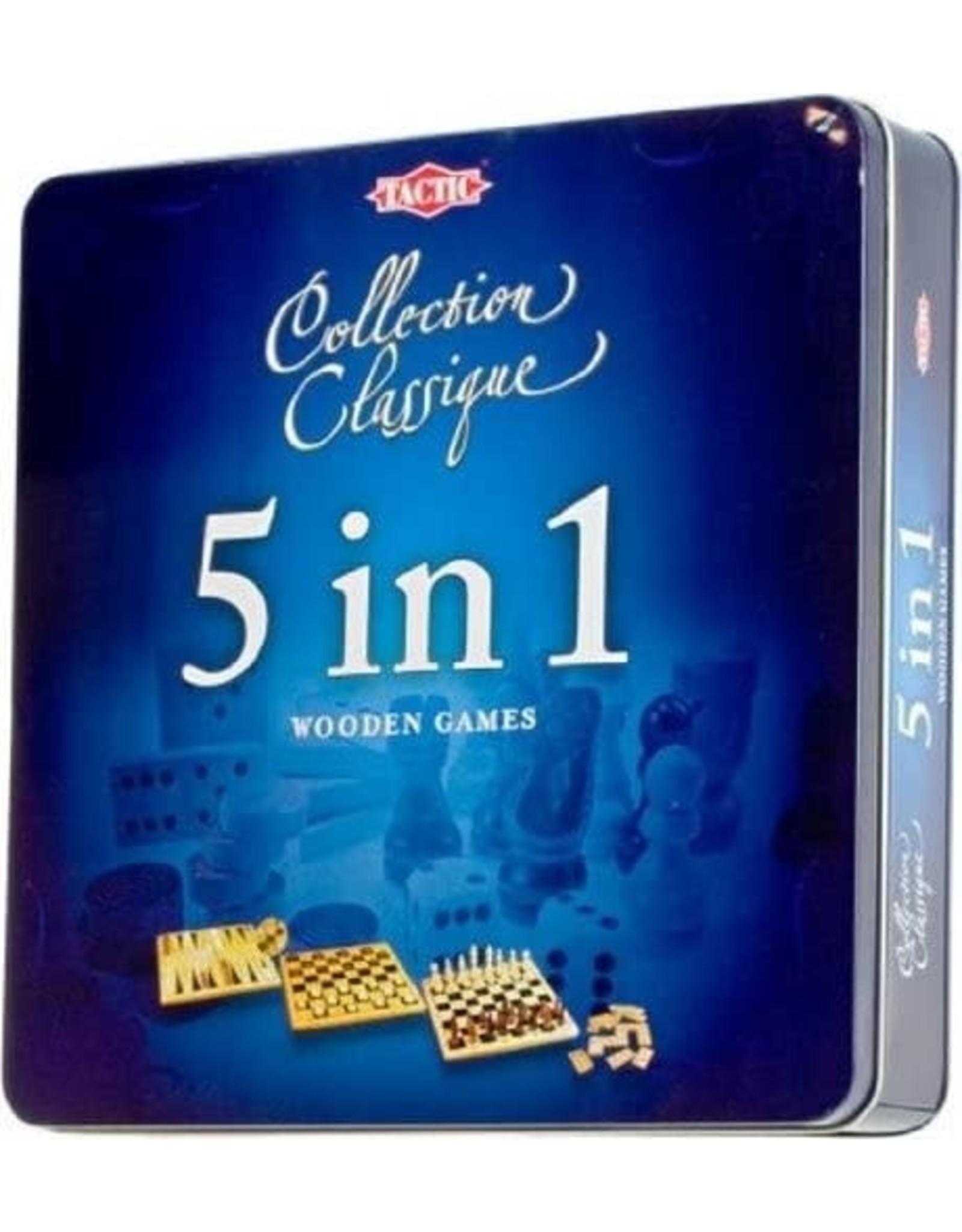 5 in 1 Tin Game Box