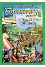 Z Man Games Carcassonne Bridges, Castles & Bazaars
