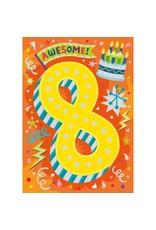 Peaceable Kingdom Age 8 Foil Card