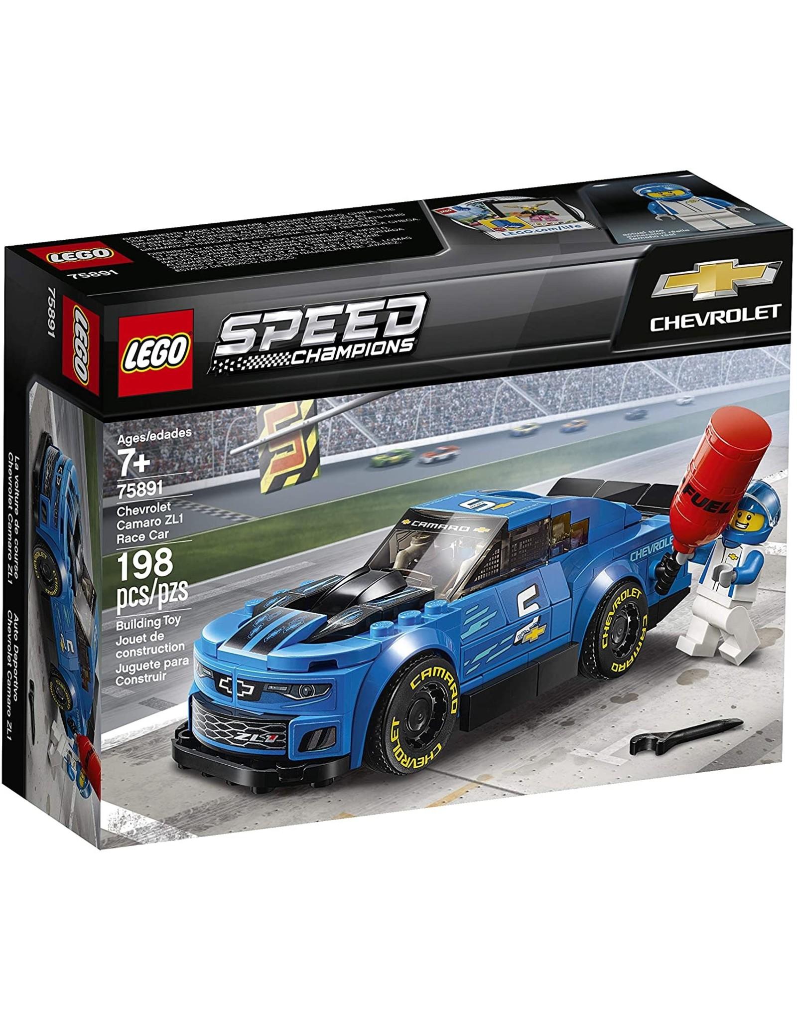 Lego Chevrolet Camaro ZL1 Race Car