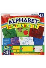 Alphabet Match & Rub Set
