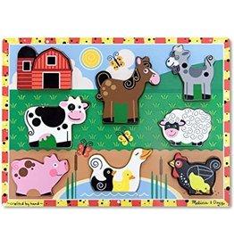 Melissa & Doug Farm Animals Chunky Puzzle