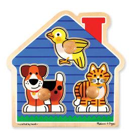 Melissa & Doug Melissa & Doug: House Pets Jumbo Knob Puzzle
