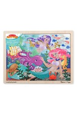 Melissa & Doug Melissa & Doug: Mermaid Fantasea Wooden Puzzle