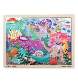 Melissa & Doug Melissa & Doug Mermaid Fantasea Wooden Puzzle