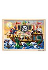 Melissa & Doug Melissa & Doug: Pirate Adventure 48 pc