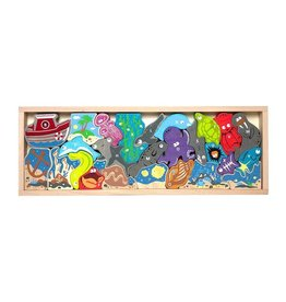 Ocean A to Z Puzzle