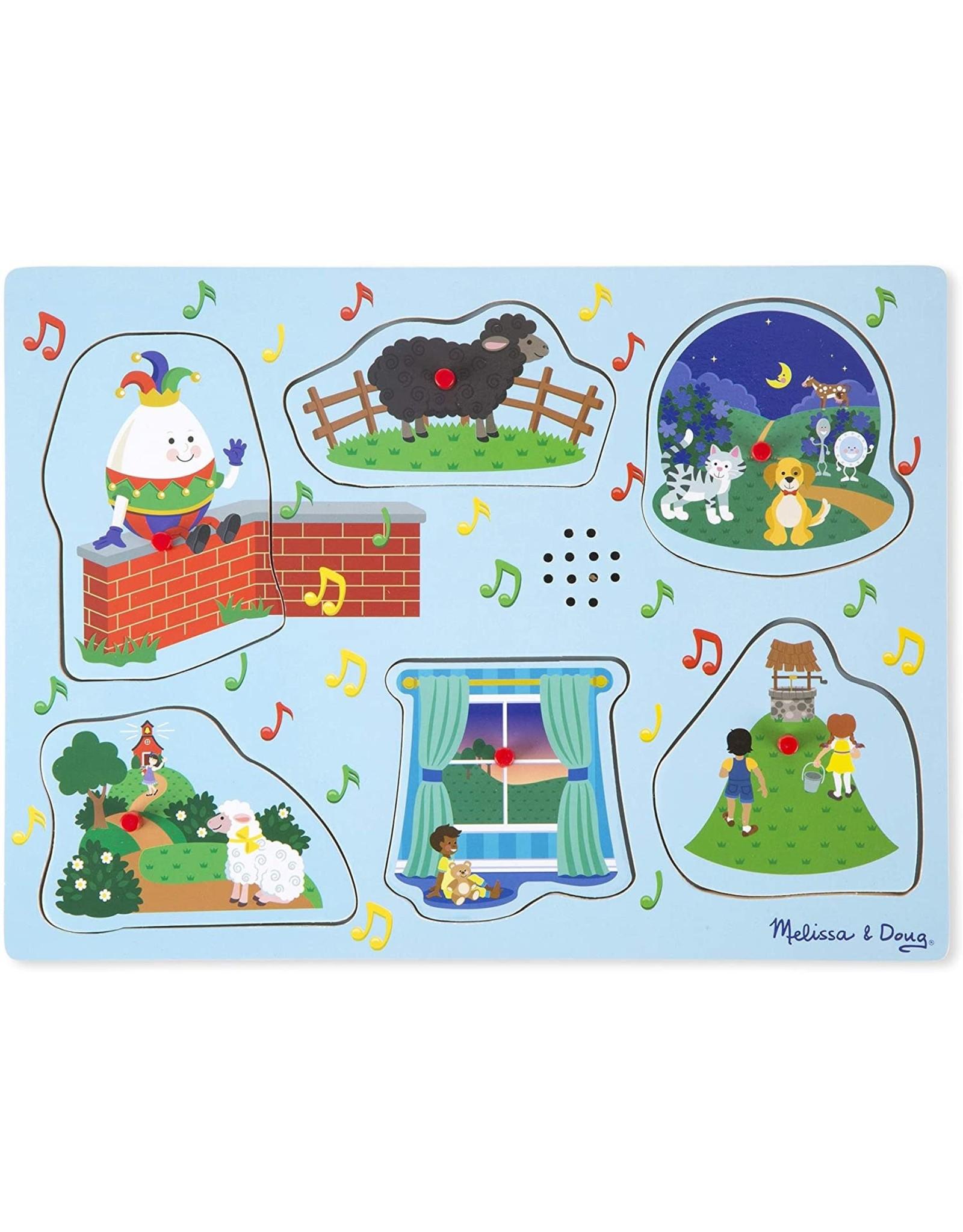 Melissa & Doug Nursery Rhymes 2 Sound Puzzle