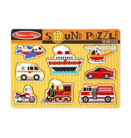 Melissa & Doug Sound Puzzle - Vehicles