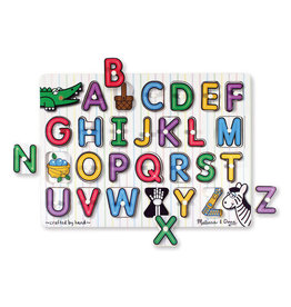 Melissa & Doug English Alphabet Peg Puzzle