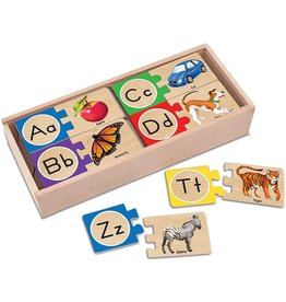 Melissa & Doug Self Correcting English Alphabet Puzzles