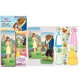 Beauty & Beast Magnetic Paper Dolls