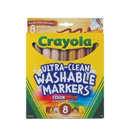 Crayola Crayola 8 count Multicultural Colours Markers