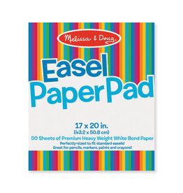 "Melissa & Doug Melissa & Doug: Easel Pad 17"" x 20"""