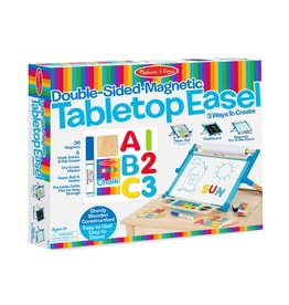Melissa & Doug Wooden Double Sided Table Top Easel