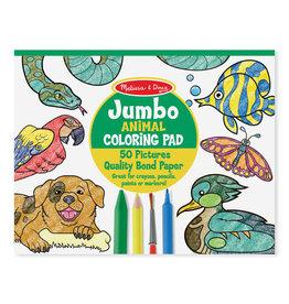 Melissa & Doug Jumbo Colouring Pad - Animals
