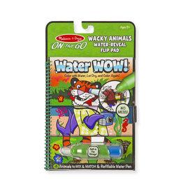 Melissa & Doug Melissa & Doug: Water Wow! Wacky Animals Water Reveal Flip Pad