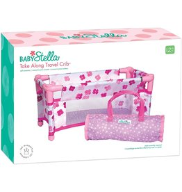 The Manhattan Toy Company Baby Stella Take Along Travel Crib
