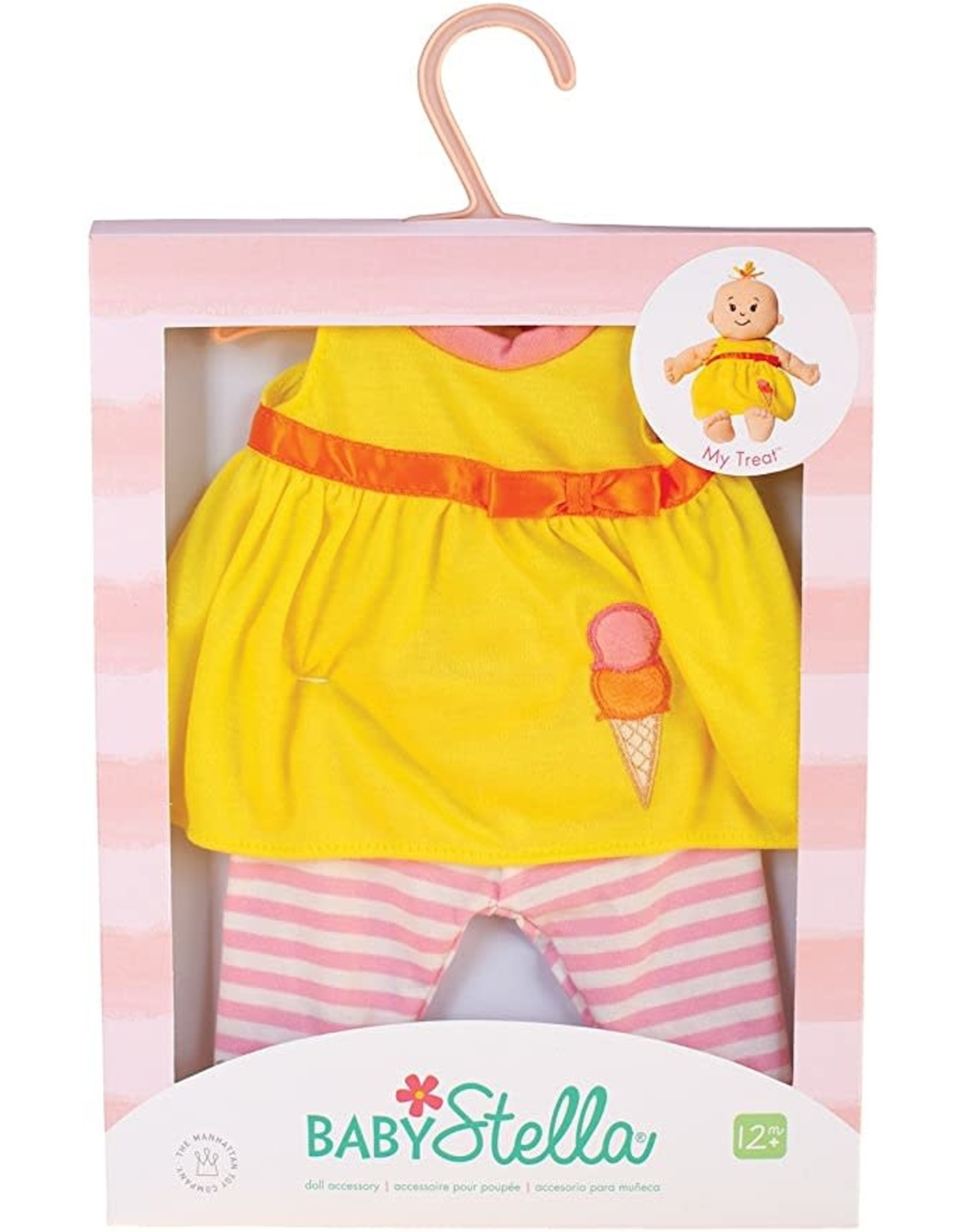 The Manhattan Toy Company Baby Stella My Treat Outfit