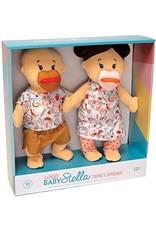 The Manhattan Toy Company Wee Baby Stella Twins Beige