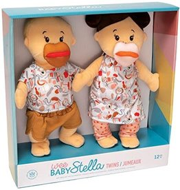 The Manhattan Toy Company Wee Baby Stella Twins Beige
