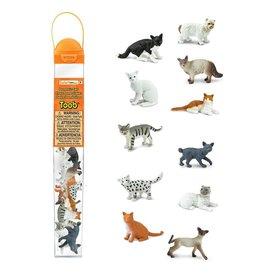 Safari Domestic Cats Toob