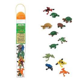 Safari Frogs and Turtles Toob
