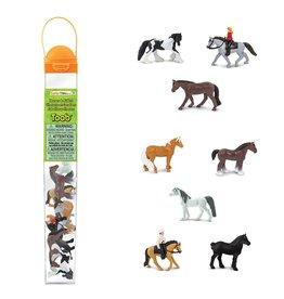 Safari Horses and Riders Toob