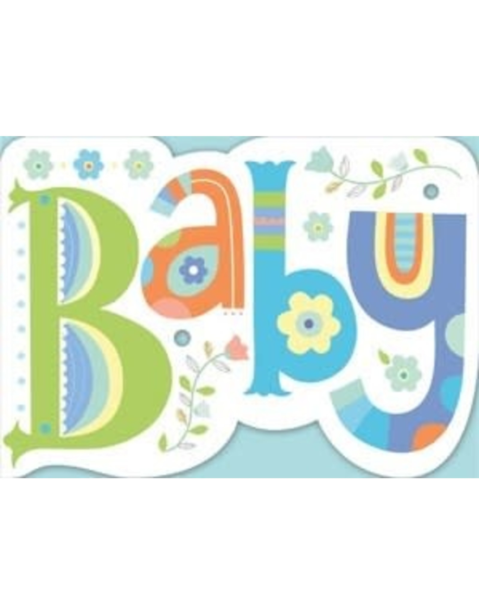 Peaceable Kingdom Baby Die Cut Card