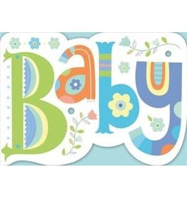 Peaceable Kingdom Baby Die Cut Card