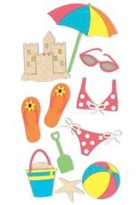 Beach Essentials Stickers