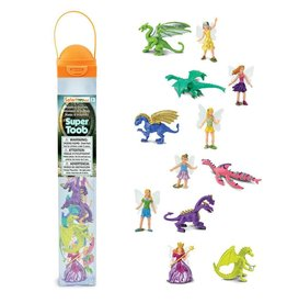Safari Fairies & Dragons Toob