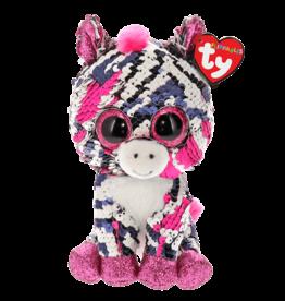 Ty Zoey - Sequin Pink Zebra Reg